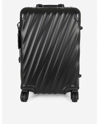 Tumi 19 Degree Aluminum International Carry-on (silver) Carry On Luggage - Black