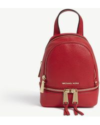 MICHAEL Michael Kors - Women's Rhea Zip Extra Small Backpack - Lyst