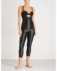 Spanx - Suit Your Fancy Stretch-jersey Catsuit - Lyst
