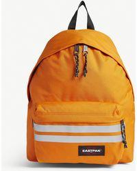 Eastpak Padded Pak'r Reflective Stripe Backpack - Orange