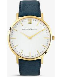 Larsson & Jennings Lj-w-lcyn-s-gw Watch - Metallic