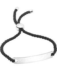 Monica Vinader - Havana Sterling Silver Friendship Bracelet - Lyst