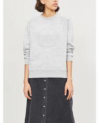 Chocoolate - Embossed-logo Cotton-jersey Sweatshirt - Lyst