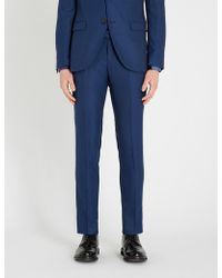 Tiger Of Sweden - Lamont Stretch-wool Trousers - Lyst