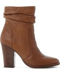 Steve Madden - Hunk Slouchy Leather Boots - Lyst