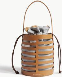 Rejina Pyo Drawstring Cage Bag - Grey