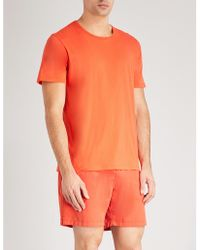 Derek Rose - Crew Cotton-jersey Pyjama Top - Lyst