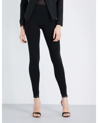 Wolford - High-rise Skinny Jersey Leggings - Lyst