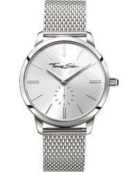 Thomas Sabo - Wa0316-201-201-33 Women's Glam Spirit Crystal Bracelet Strap Watch - Lyst