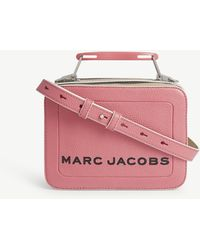 Marc Jacobs - The Box Bag Leather Cross-body Bag - Lyst