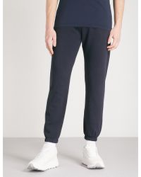 Napapijri - Maray Logo-print Cotton-jersey Jogging Bottoms - Lyst