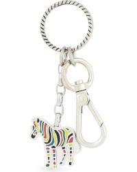 Paul Smith Zebra Keyring - Multicolor