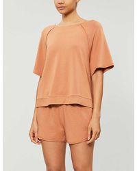 Eberjey Blair Cotton-blend Jersey Pyjama Bottoms - Orange