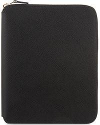 Smythson - Panama A5 Leather Writing Folder 24cm - Lyst