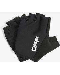 Off-White c/o Virgil Abloh Active Branded Woven Gloves - Black