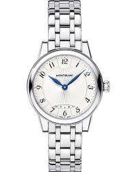 Montblanc - Boheme Date 111207 Stainless Steel Watch - Lyst