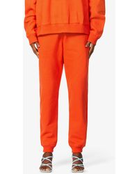 Fenty Tapered High-rise Cotton-jersey jogging Bottoms