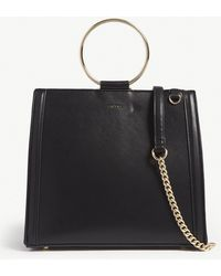 ALDO - Ladies Black Stylish Acilla Faux-leather Shoulder Bag - Lyst
