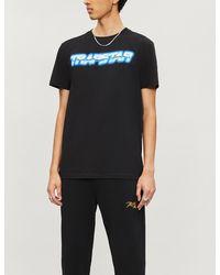 Trapstar Midnight Chrome Racer Cotton-jersey T-shirt - Black