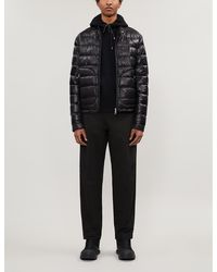 Moncler Acorus Quilted Shell-down Jacket - Black