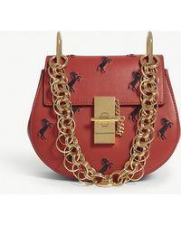 Chloé - Drew Bijou Embroidered Leather Bag - Lyst