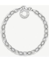 Thomas Sabo - Charm Club Sterling Silver Charm Bracelet - Lyst