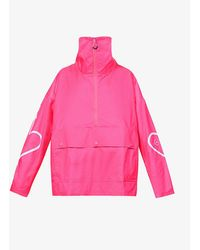 adidas By Stella McCartney Recycled Polyester Zip Jacket - Pink