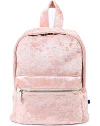 Skinnydip London - Crushed Velvet Mini Backpack - Lyst