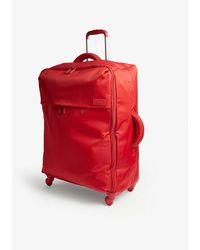 Lipault Originale Plume Four-wheel Cabin Suitcase 72cm - Red