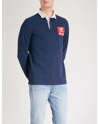 Polo Ralph Lauren - Logo Patch Cotton Rugby Shirt - Lyst