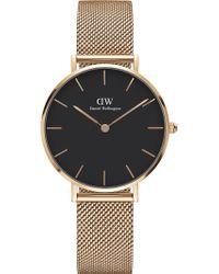 Daniel Wellington - Classic Petite Melrose Rose Gold-plated Watch - Lyst