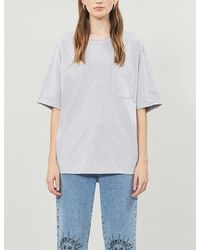 TOPSHOP gray Marl T-shirt By Boutique