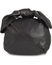 Simone Rocha - Double Bow Nappa Leather - Lyst