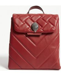 Kurt Geiger - Kensington Quilted Leather Backpack - Lyst