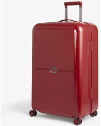 Delsey Turenne Four-wheel Spinner Suitcase 75cm - Red