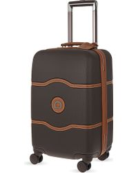 Delsey - Chatelet Hard + Four-wheel Cabin Suitcase 55cm - Lyst