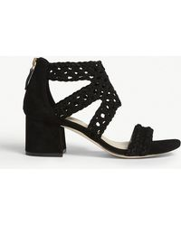 Sandro - Lena Suede Sandals - Lyst
