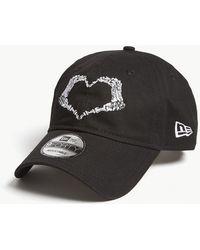 KTZ - 9forty Heart Cotton Strapback Cap - Lyst
