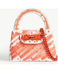 Moschino - Sketch Print Tote Bag - Lyst