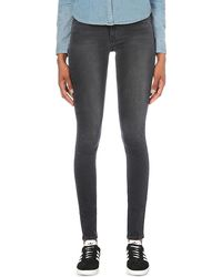 Lyst - Levi S 710 Innovation Super-skinny Mid-rise Jeans in Blue 4986928cb7
