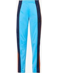 Colville Womens Multi Upcycled Stretch-jersey Tracksuit Trousers M - Blue
