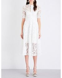 Temperley London | Berry Lace Dress | Lyst