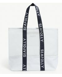 Seafolly Carried Away Mesh Tote - White