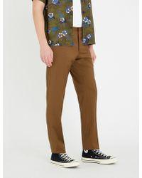 The Kooples - Slim-fit Mid-rise Wool Trousers - Lyst