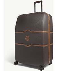Delsey Chatelet Hard Four-wheel Suitcase 82cm - Brown