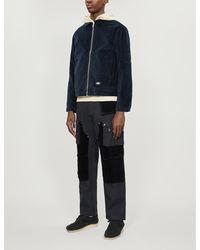 Dickies Garri Zipped Velvet Jacket - Blue