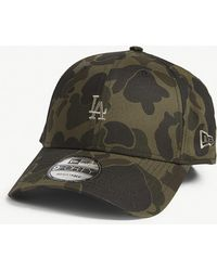 10282fc1abc KTZ - Los Angeles Dodgers 9forty Camouflage-print Baseball Cap - Lyst