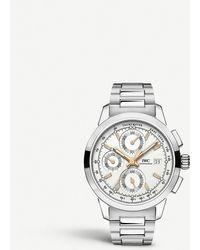 wholesale dealer 86661 a041f Iw380801 Ingenieur Stainless Steel Watch - Metallic