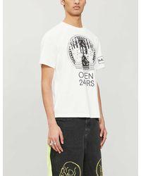Haculla Graphic-print Cotton-jersey T-shirt - White