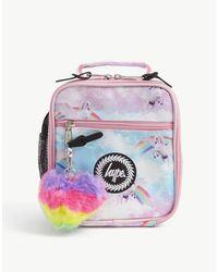 Hype Unicorn-print Woven Lunch Box - Multicolour